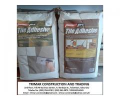 Cebu Tile Adhesive Supplier