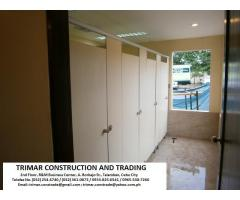 Cebu Toilet Partitions Supplier and Contractor